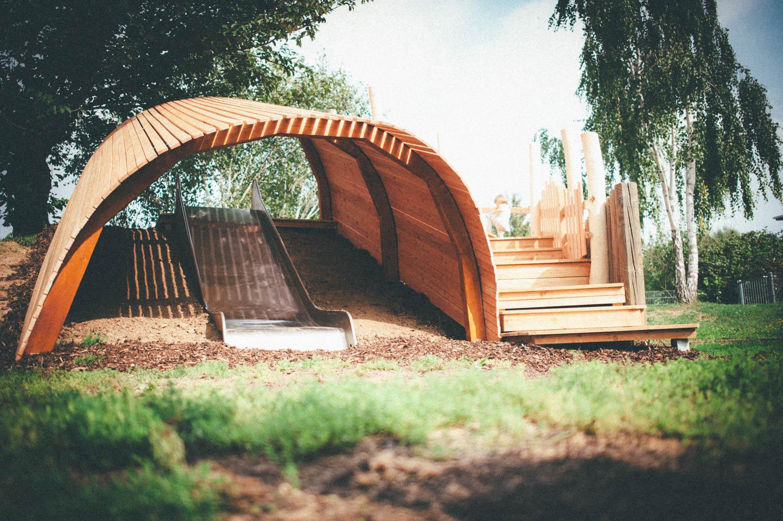 a kindergarten outdoor space
